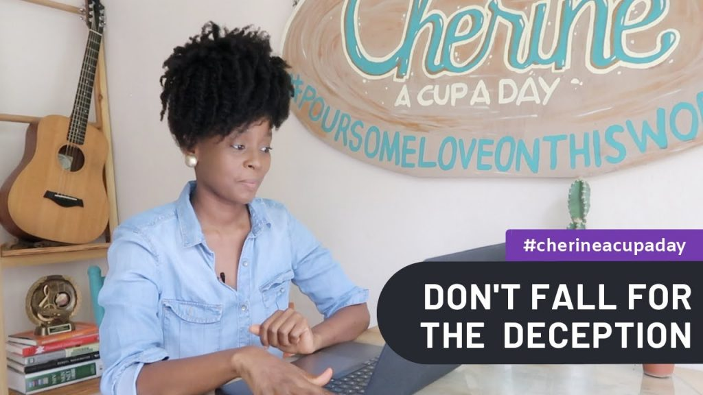 A Cup A Day   Deception | A Cup A Day with Cherine Anderson #acupaday